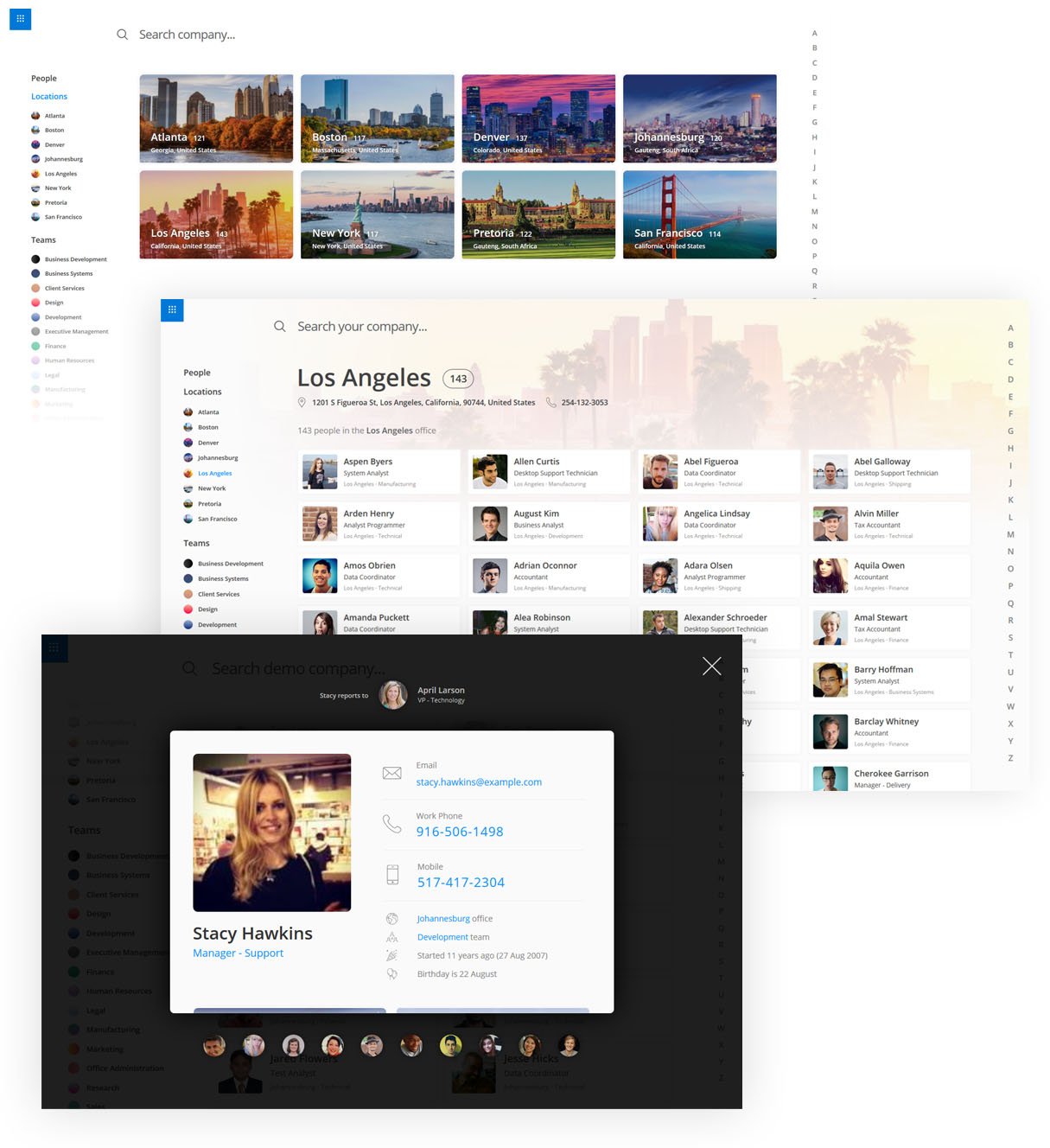 OneDirectory - Modern employee directory software for Microsoft Office 365