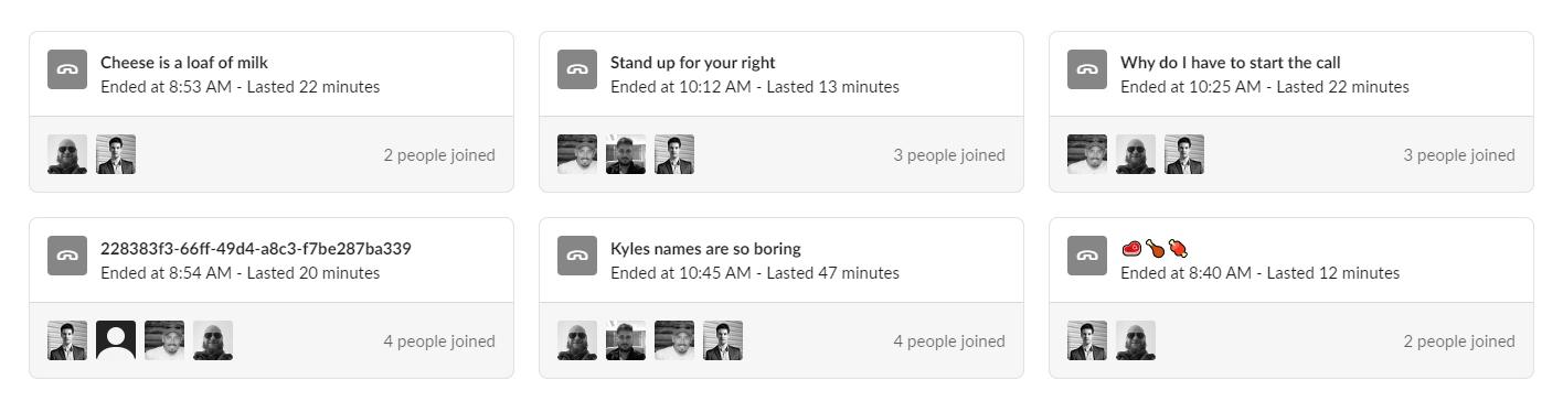 Vinewave's Slack daily meetings